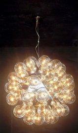 现代蒲公英吊灯小圆球泡泡玻璃吊灯餐吊灯灯具