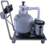 水泵吸污车