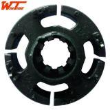 散热风扇配件定子包胶塑胶埋射釸钢片(WT-0019)