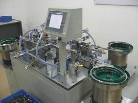 突跳式温控开关组装自动化设备