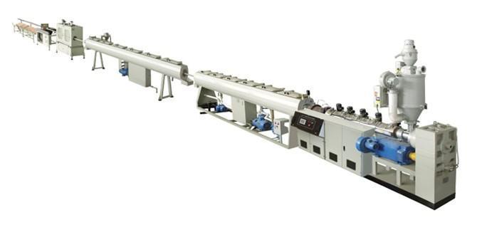 PP/PE/PPR塑料管材生產線