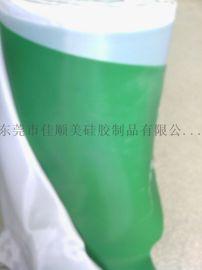绿色布纹硅胶片厂家直销绿纹硅胶片 硅胶片 硅胶卷材环保硅胶材料