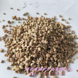 本格供应软质黄金麦饭石 多肉植物用麦饭石颗粒