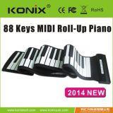 科匯興手捲鋼琴88鍵MIDI電鋼琴88鍵批發 ,矽膠電子琴,