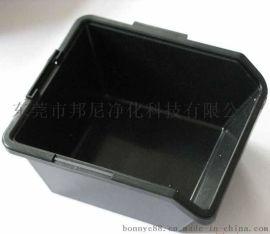 防静电元件盒,黑色全新料托盘