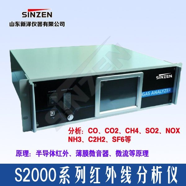 S2000型一氧化碳分析仪产品简介