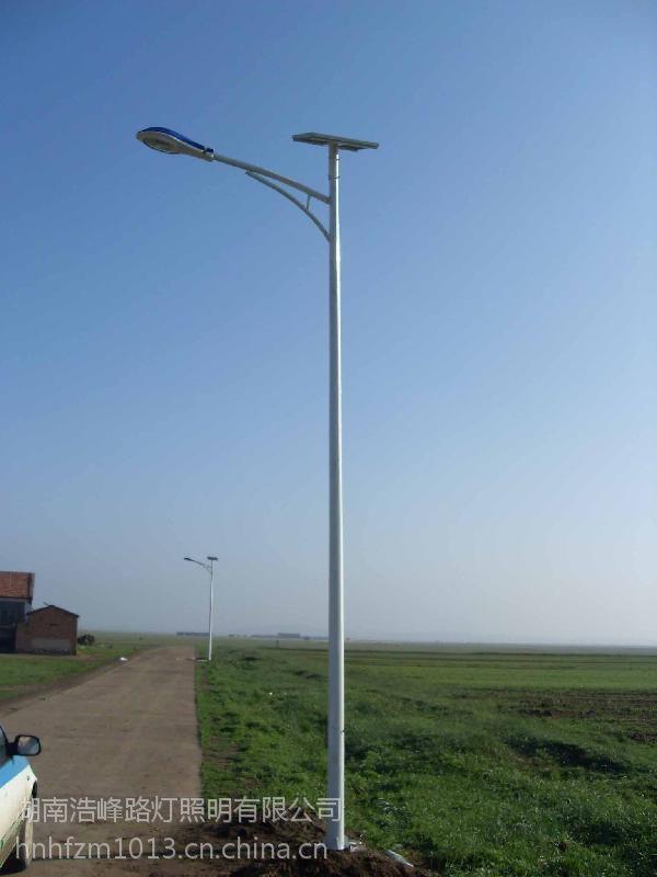 湖南新邵乡村LED太阳能路灯厂家/专业生产太阳能路灯