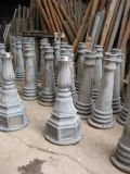 热销铸铝翻砂铁三环,六角底座灯杆灯具配附件