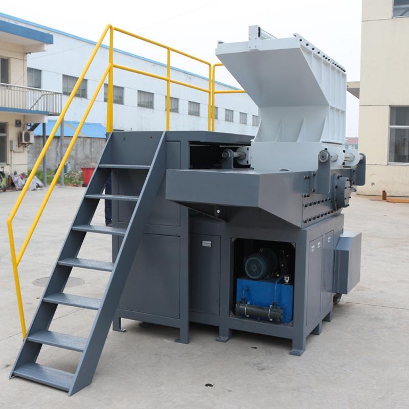 廠家直銷大口徑鋼帶增強管單軸撕碎破碎機、鋼帶分離系統