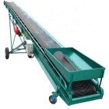加厚膠帶輸送機移動式糧庫輸送機散玉米、水泥皮帶輸送機