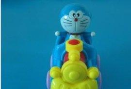 卡通火车-发条惯性上链玩具