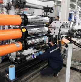 苏州金韦尔超透明PVC软门帘设备厂家