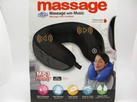 电动  U形MP3枕