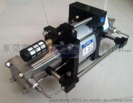 赛森特DGT二级气动气体增压泵(双击双作用)
