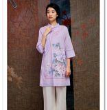 木棉道 原创手绘唐装 改良汉服 中国风女装批发 18442