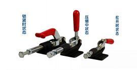 快速夹具压紧器 快夹夹具推拉式 木工压板夹具固定 工装夹钳锁夹