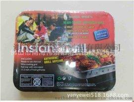 锡纸烧烤炉 简易烧烤炉 独立包装烧烤炉 外国专用烧烤炉 18个一箱
