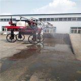 农场使用的水稻打药机 自走式喷药机 大型小麦打药机
