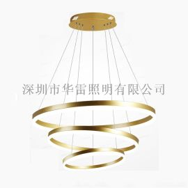 环形铝材吊灯