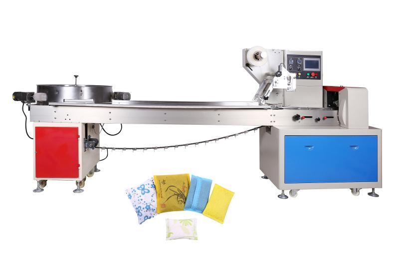 婆餅自動套裝包裝機多個餅枕式包裝機糕點包裝機設備