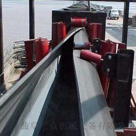 管状皮带机输送粮食 固定型