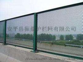 振鼎 实体供应圈山浸塑钢板网 绿色冲孔护栏