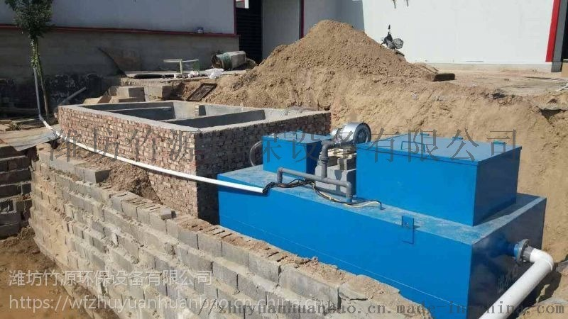 定遠養殖一體化污水處理設備定製方案