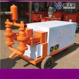 新疆昌吉液压大颗粒混凝土输送泵液压双缸灌浆泵厂家直销