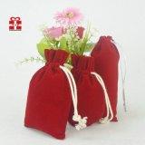 廠家專業生產絨布束口包裝珠寶首飾、植絨布拉繩袋