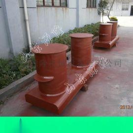 源隆供应150KN系船柱 铸钢系船柱子 铸铁系船墩