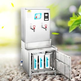 鹤壁玉晶源医院电开水器大容量集中供水可满足多人使用电开水机