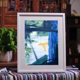 工厂直销 现代简约 黑/白/原木色 木制相框 35MM加厚 纯实木相框