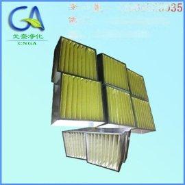 义乌 中效箱式空气过滤器 折叠过滤器尺寸(非标定做)