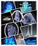 專業雕刻水晶 創意生日禮品 三維鐳射內雕機廠家