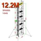 广州 施工新型脚手架厂家 铝合金多功能组合梯 快拆式 安全稳固