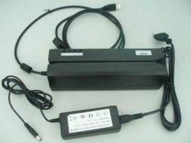 全三軌高抗磁卡讀寫器(MSR606)