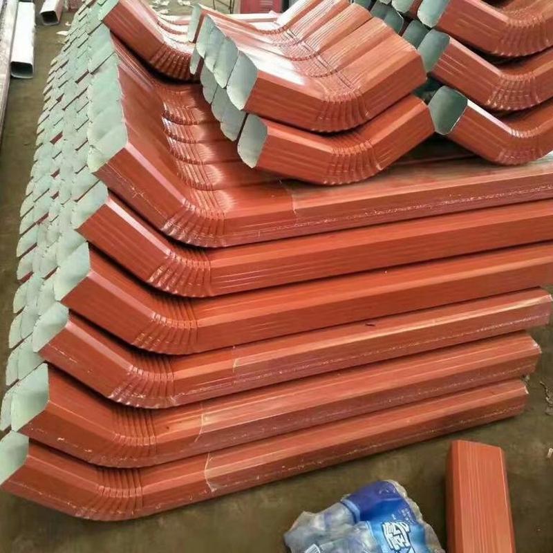 144*108型彩钢落水管/彩钢雨水管
