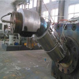江苏 平双单螺杆双阶风冷模面造粒机   厂家直供