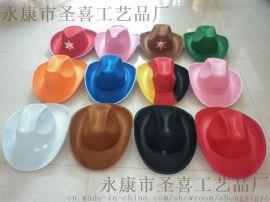供应牛仔帽子 无纺布帽子 牛仔礼帽(SX601V-61)