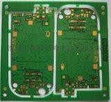四层镀金绿油线路板 PCB