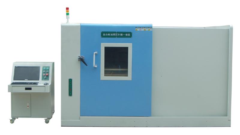 GS-VENCP-20非標定制動力蓄電池擠壓**一體試驗機