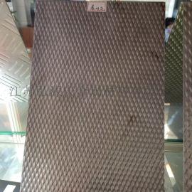 菱形花不锈钢花纹板 现货供应