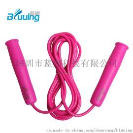 蓝翅东莞厂家直销定制高质量PVC儿童学生运动跳绳