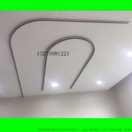 丹江铝合金U型医用帘轨道 L型隔帘轨道 吊杆轨道