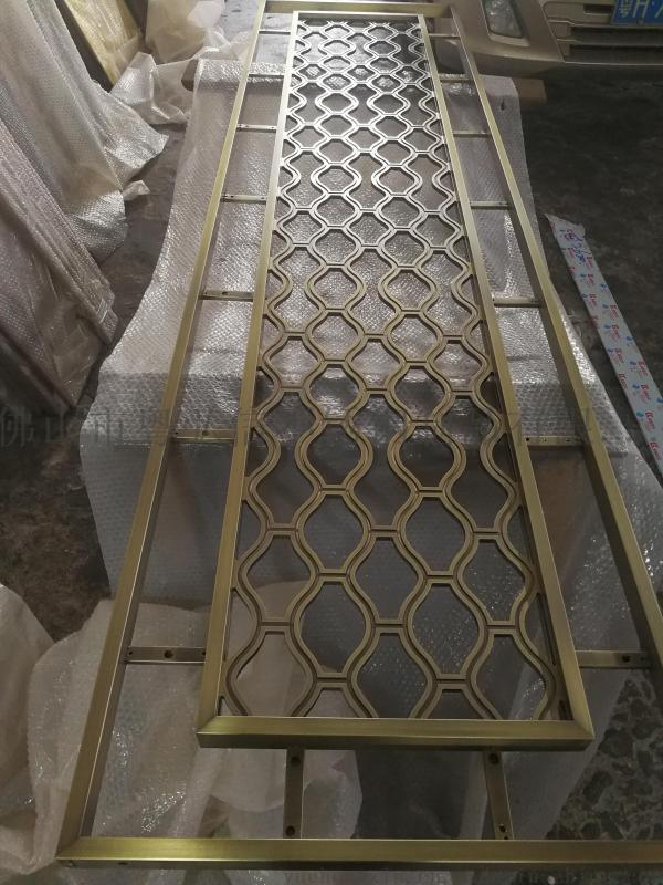 酒店铝屏风  铝雕装饰屏风 隔断 雕刻厂自销