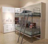 青年公寓家具DZYP-900双层隐形床