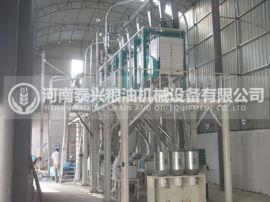 河南泰兴小麦加工设备,面粉机的制粉工艺