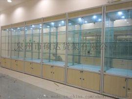 钛合金展示柜玻璃展柜批发泉州汽车用品展示柜