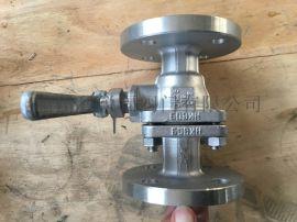 Q41F国标不锈钢手动法兰球阀