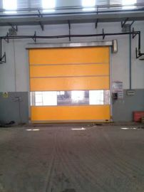 防尘保温pvc门帘 工业提升门